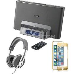 ICFCS15iPSILN iPhone Speaker Dock Audio Bundle