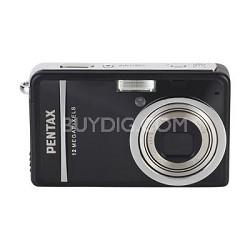 "Optio S12 2.5"" LCD Monitor, 12 MP Digital Camera (Black)"