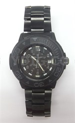 Men's SWW-900 Tritium H3 Basic Round Black on Black Watch - OPEN BOX