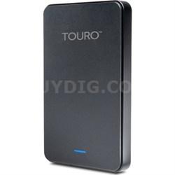 Touro Mobile MX3 500GB USB 3.0 External Hard Drive Black - Factory Refurbished