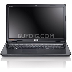 i17R-6121DBK - Inspiron 17R Notebook PC Intel Core i5-2410M - Diamond Black