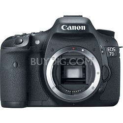 EOS 7D 18 MP CMOS Digital SLR Camera with 3-inch LCD (Body Only)