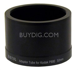Lens Barrel Adapter for  P880 - 52mm