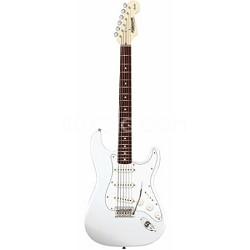Starcaster Electric Guitar - Strat White