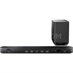 HT-ST9 Hi-Res 7.1 Channel Sound Bar with Wireless Subwoofer - OPEN BOX