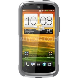 Commuter Series Case for HTC One VX - Retail Packaging - Glacier White