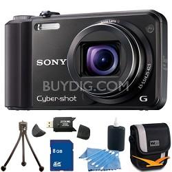 Cyber-shot DSC-H70 Black Digital Camera 8GB Bundle