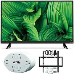 "D-Series D32hn-E1 32"" Class Full-Array LED TV w/ Slim Wall Mount Bundle"