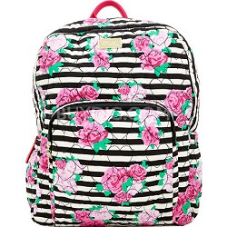 Luv Betsey Grand Quilted Compact Backpack - Rose