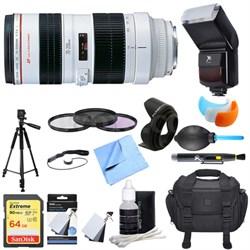 EF 70-200mm F/2.8L USM Lens Ultimate Accessory Bundle