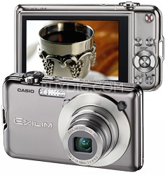 """Exilim EX-S10 10.1MP Digital Camera with 2.7"""" LCD (Silver)"""