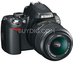 D60 Digital SLR Outfit w/ 18-55mm VR Zoom