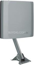 HDTV s - Slim Profile Outdoor HDTV Antenna for Off-Air HDTV Reception