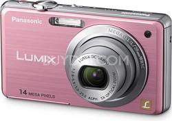 DMC-FH3P LUMIX 14.1 Megapixel Digital Camera (Pink)