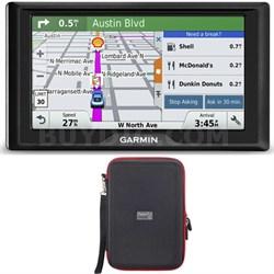 Drive 60LM GPS Navigator (US and Canada) 010-01533-07 Hardshell Case Bundle