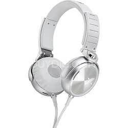 MDRX05/WS X Headphone, White/Silver