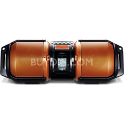 High Powered Portable 100W Audio System Dual Subs iPod/iPhone/iPad Dock - GXM10