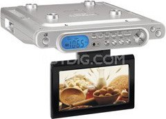 KL858S - Ultra Slim Under-cabinet Entertainment System