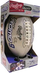 Tony Romo Junior Size Football with Pump and Tee