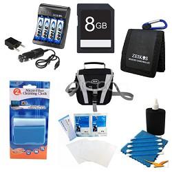 Advanced AA Battery 8GB Kit - Fujifilm S2950, S4200, S4500, CANON SX160, GE X500