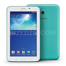 "Galaxy Tab 3 Lite 7.0"" Blue/Green 8GB Tablet - 1.2 GHz - OPEN BOX"