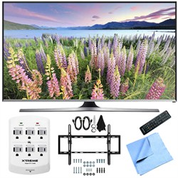 UN50J5500 - 50-Inch Full HD 1080p Smart LED HDTV Flat & Tilt Wall Mount Bundle