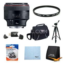 EF 85mm F/1.2L II USM Telephoto Lens Exclusive Pro Kit