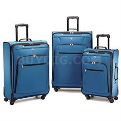 Pop Plus 3 Piece Luggage Set (Moroccan Blue) - 64590-2551 - OPEN BOX