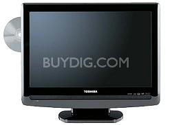 "19LV505 - 19"" LCD TV w/ built-in DVD Player, Hi Gloss Black"