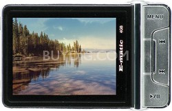 E5 4GB MP3 MP4 Player with Digital Camera - Black