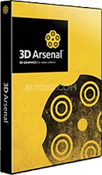 3D Arsenal - Content Only for Lightwave or VT(4) registered users  (MAC)