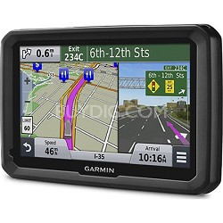 "dezl 570LMT 5"" Truck GPS Navigation System with Lifetime Map and Traffic Updates"
