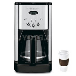 DCC-1200 Brew Central 12-Cup Coffeemaker Brushed Metal - Factory Refurbished