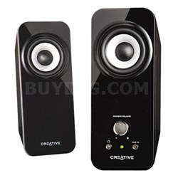 Inspire T12 Speakers with Bass Flex Technology in Black - 51MF1625AA001