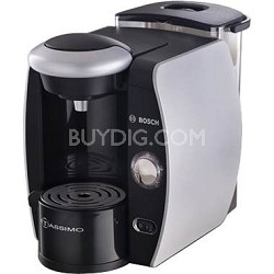 Tassimo Single-Serve Coffee Brewer - Silk Silver/Chrome Accents (TAS4511UC)