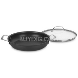 625-30D Chef's Classic Nonstick Hard-Anodized 12-Inch Everyday Pan