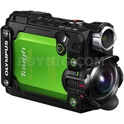 Stylus TG-Tracker 4K Action Cam Waterproof Shockproof Freezeproof (Green)