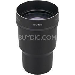 VCLDH1757 - Telephoto Conversion Lens for DSC-HX1