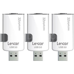 3-Pack JumpDrive M20i 32GB USB 3.0 Flash Drive for iPhone w/ Lightning Connector