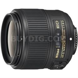 AF-S NIKKOR 35mm f/1.8G ED Lens - Factory Refurbished