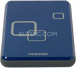DS TS Canvio HD 750GB USB 2.0 Portable External Hard Drive - Liquid Blue