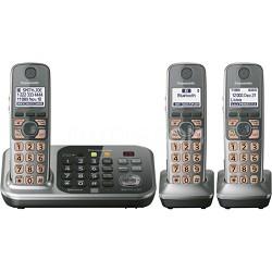 KX-TG7743S Dect 6.0 3-Handset Landline Telephone