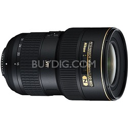 16-35mm D/4 G ED-VR AF-S Wide-Angle Zoom Nikkor Lens - Factory Refurbished