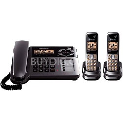 KX-TG1062M DECT 6.0 Corded/Cordless includes 2 handsets, TAD