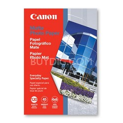 Photo Paper Matte, 4 x 6 Inches, 120 Sheets (7981A014)