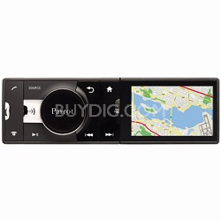 "3.2"" ASTEROID Single-DIN In-Dash Mechless Receiver with Bluetooth - PF350001AA"