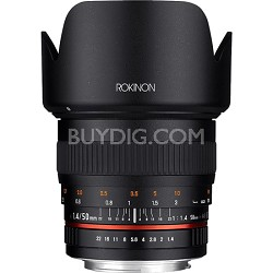 50mm F1.4 Lens for Canon EF DSLR