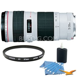 EF 70-200MM F/4.0 L USM Lens Super Saver  Kit