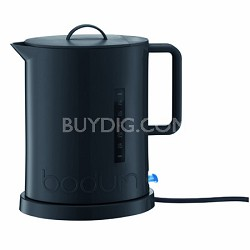 Ibis Cordless Electric 57-Ounce Water Kettle with Concealed Element - Black