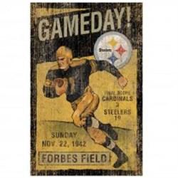 Pgh Steelers Vintage Wall Art